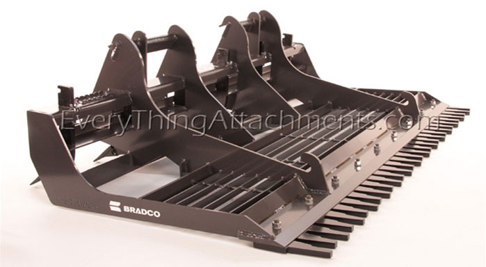 Bradco 78 Land Sculptor Universal Skid Steer Quick Attach
