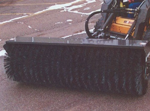 Sweepster Skid Steer Hydraulic Angle QCSS Broom